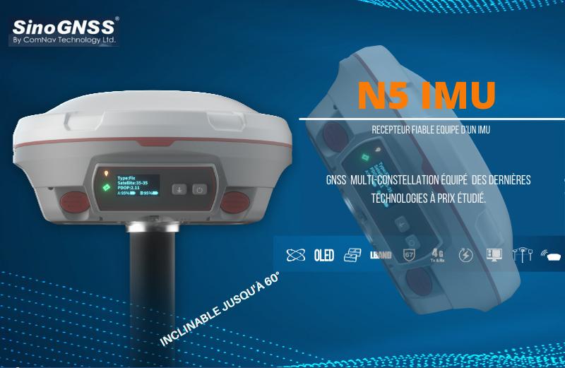 نقد و بررسی جی پی اس مولتی فرکانس هوشمند کامناو  مدل N5