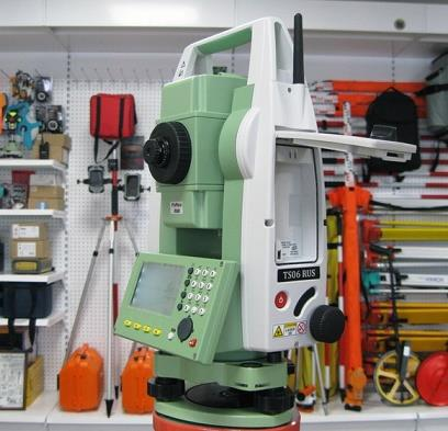 توتال استیشن لایکا TS06.R500 کارکرده